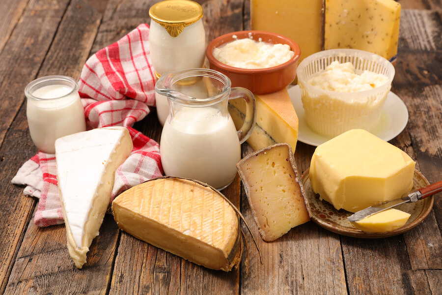 Dairy is known to neutralize acids in the mouth to promote healthy teeth.